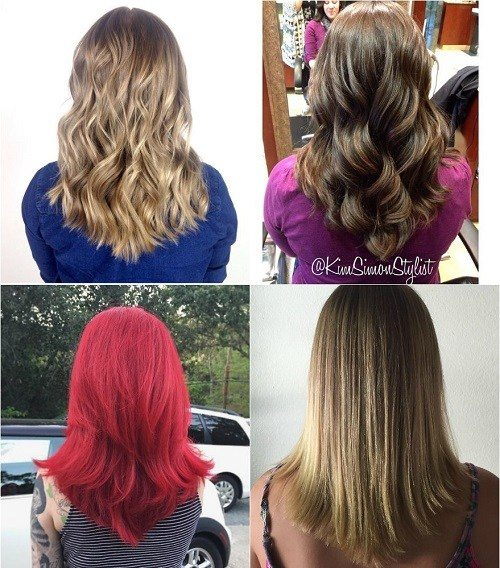 17 popular medium length hairstyles for thick hair best hairstyle see how beautiful hot and adorable the medium v shape haircut looks on these beauties check photos in the link posted above solutioingenieria Gallery